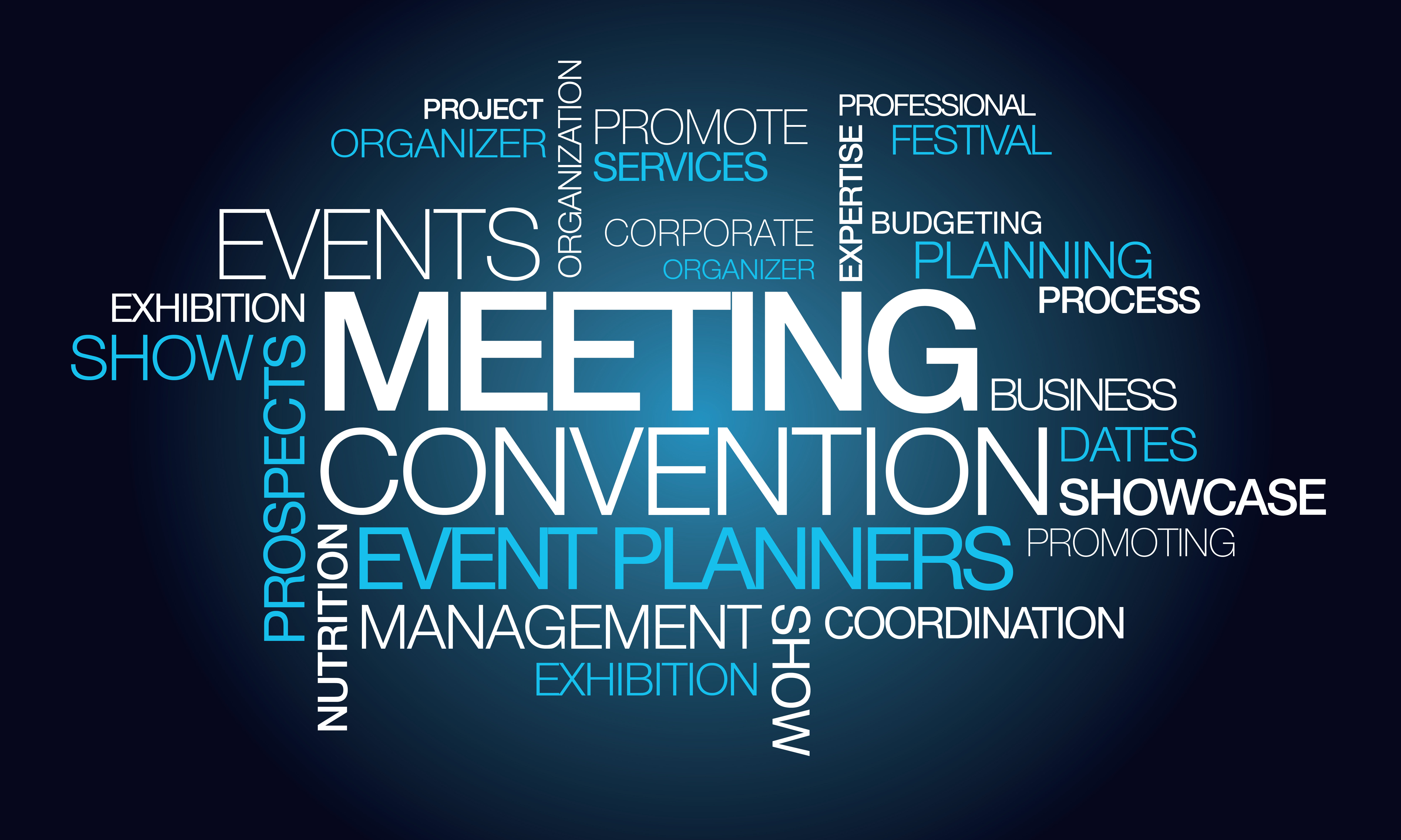 events planning and management Specialize in event planning & management for any industry | corporate events, government events, industry, parties & more | programs, projects & events.