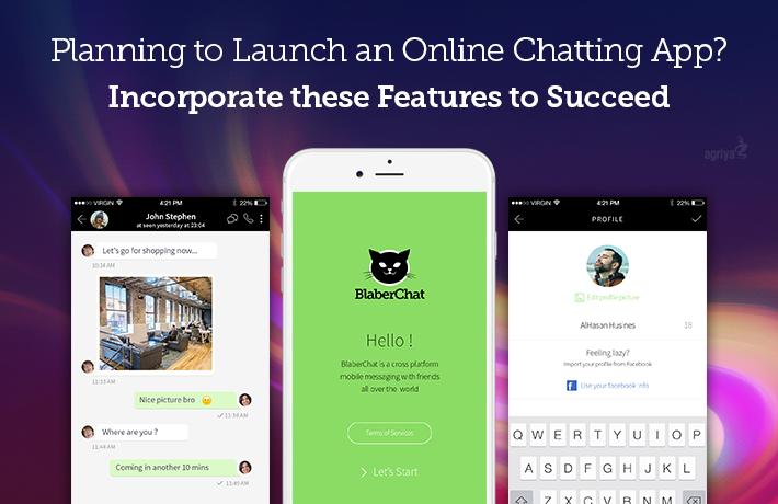 Launch Online Chatting App