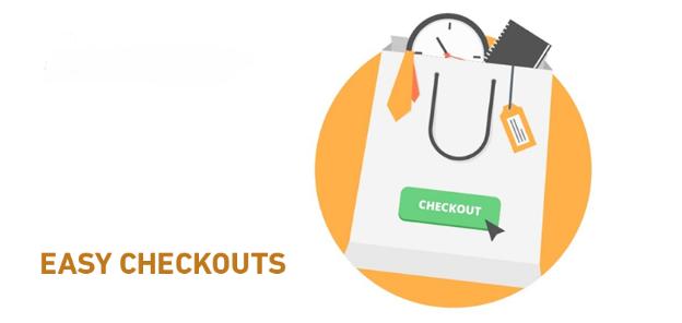 Easy Checkouts