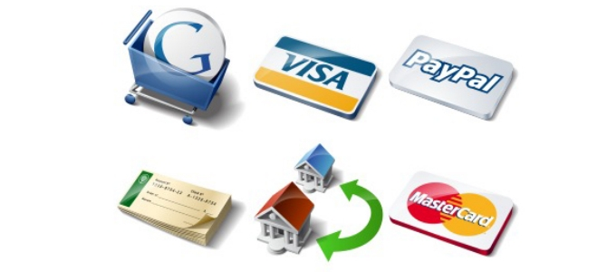 Multiple payment modes and gateways