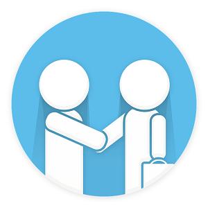 customer relation vector image