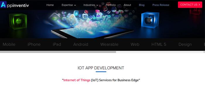 Appinventiv Iot Mobile App Development