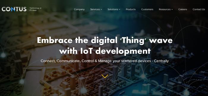 Contus Iot App Development Company