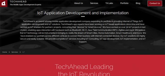 Techahead Iot App Development Firm