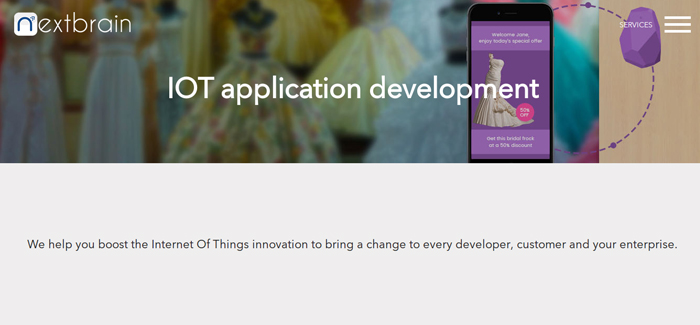 Nextbrain Iot App Development Solution