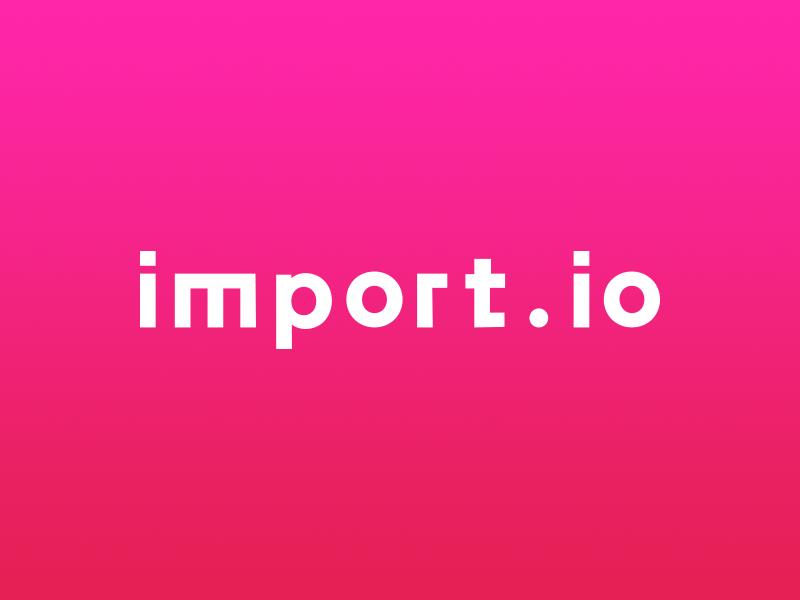 Import.io